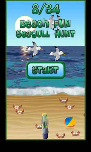 Beach Fun Seagull Hunt