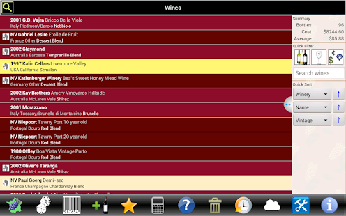Wine Tracker - screenshot thumbnail