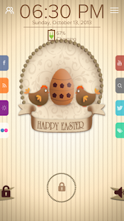 Happy Easter - Start Theme - screenshot thumbnail
