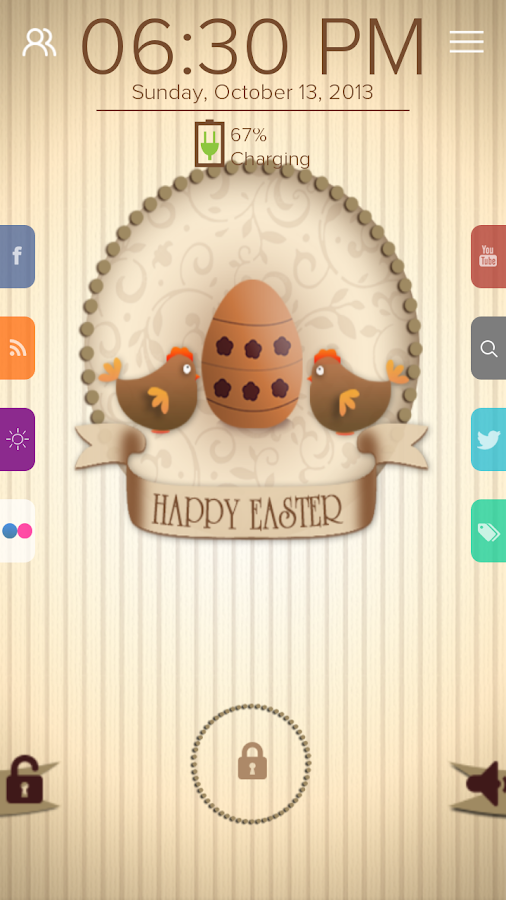 Happy Easter - Start Theme - screenshot
