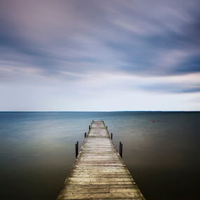 Silence... by Joanna Maciszka - Landscapes Waterscapes ( sky, silence, long exsposure, bridge )