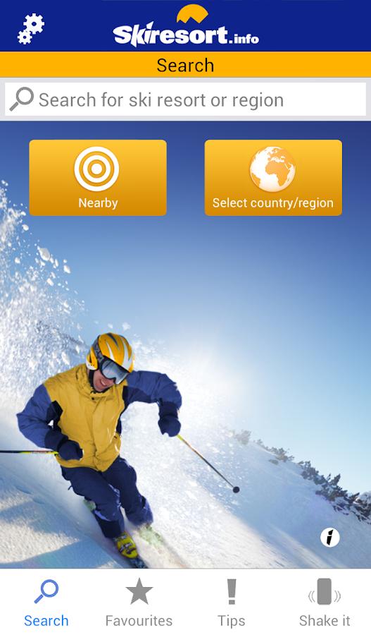 Skiresort.info – ski app - screenshot