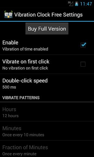 Vibration Clock Free