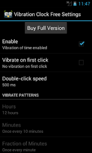 Vibration Clock Free - screenshot thumbnail