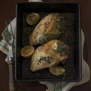 Herbed Cheese & Kale-Stuffed Chicken Breasts.