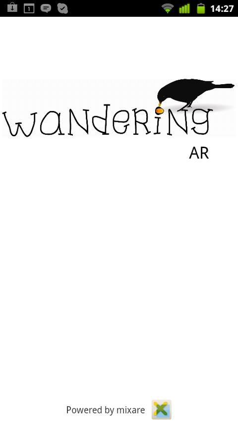 Wandering AR - screenshot