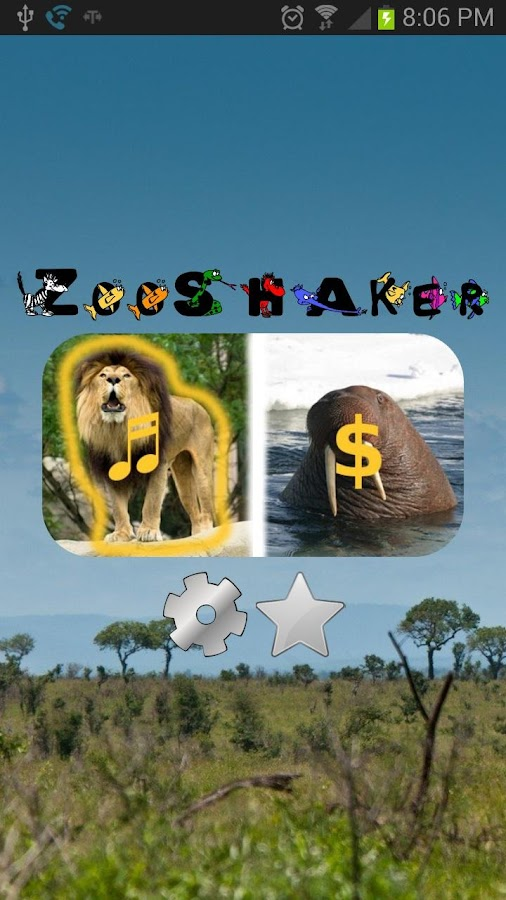 ZooShaker Animal Kid Education - screenshot