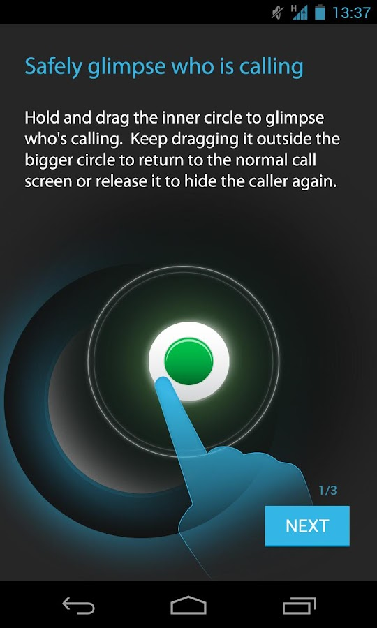 NO SHOW Privacy Hide Caller ID - screenshot
