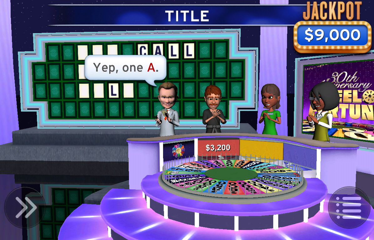 Wheel of Fortune - screenshot