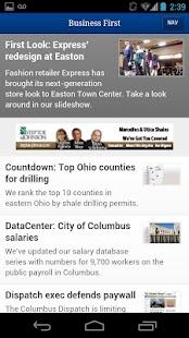 Columbus Business First- screenshot thumbnail