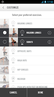 Nike Training Club - screenshot thumbnail