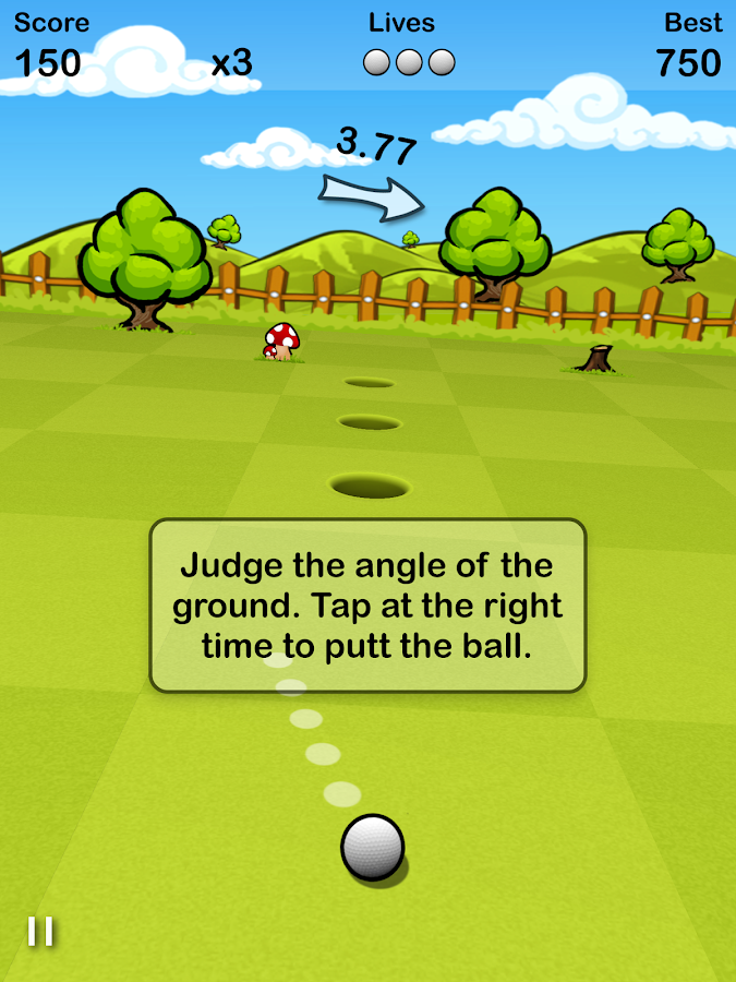 Putt Golf FREE- screenshot
