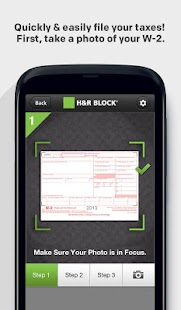 H&R Block 1040EZ - screenshot thumbnail