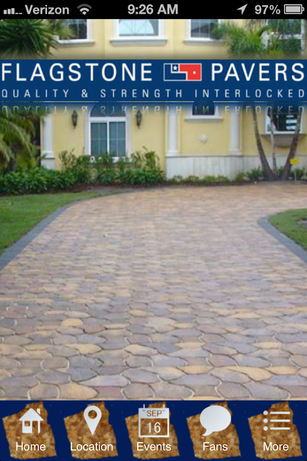 Flagstone Pavers- screenshot