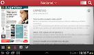 screenshot of Vodafone Quiosque
