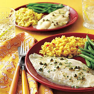 Baked Herbed Fish Fillets.