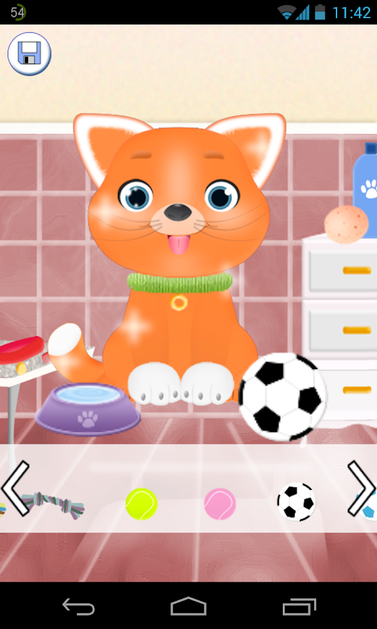 cat salon games - screenshot