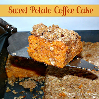 Sweet Potato Coffee Cake.