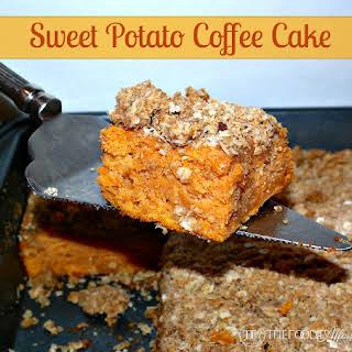 Sweet Potato Coffee Cake.