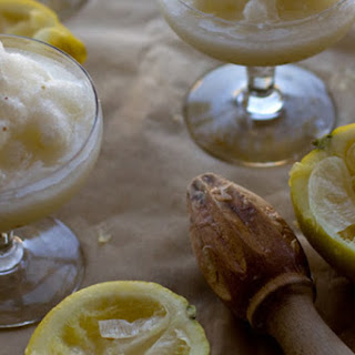 Lemon Anise Slush.