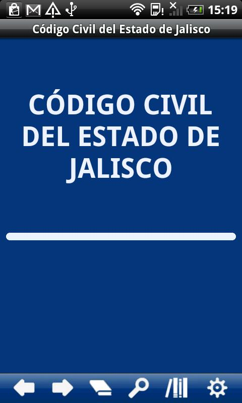 Civil Code Jalisco State - screenshot