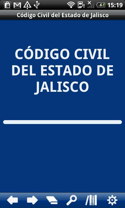 Civil Code Jalisco State - screenshot