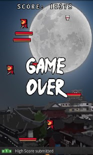 Super Ninja Free (Open-Feint) - screenshot thumbnail