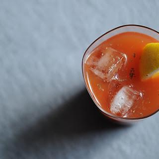 Horseradish Vodka Bloody Mary.