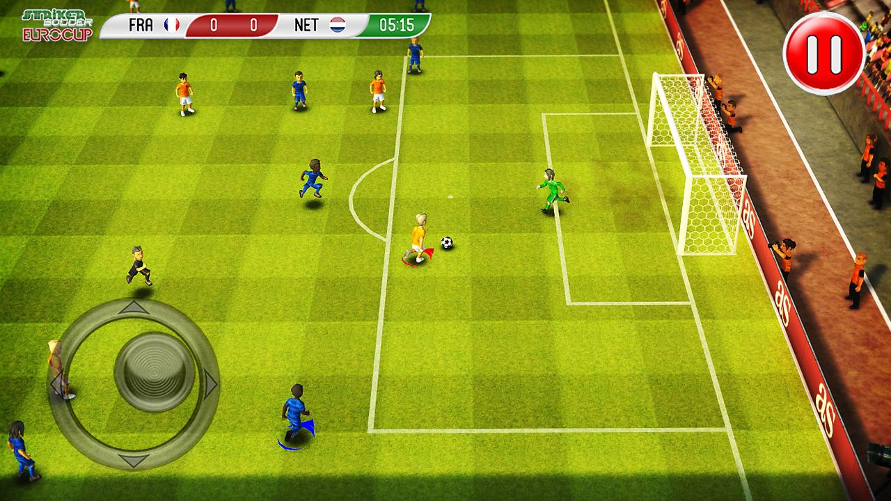 Striker Soccer Euro 2012- screenshot