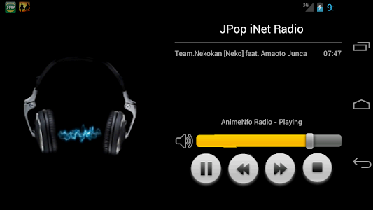 JPOP iNet Radio screenshot 1