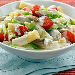 Creamy Mustard, Tomato and Chicken Pasta Recipe