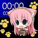 Chibi Luka Clock Widget (2×4) logo