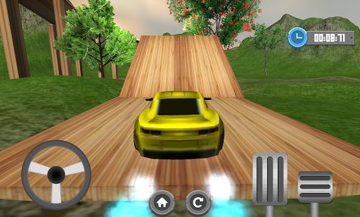 車平台爬上驅動3D