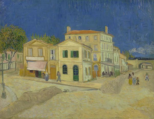 Kleurplaten Van Huizen : Het gele huis de straat van gogh museum