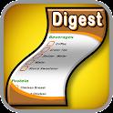 Digest Diet Shopping List icon