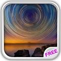 Magic Night Sky Live Wallpaper icon