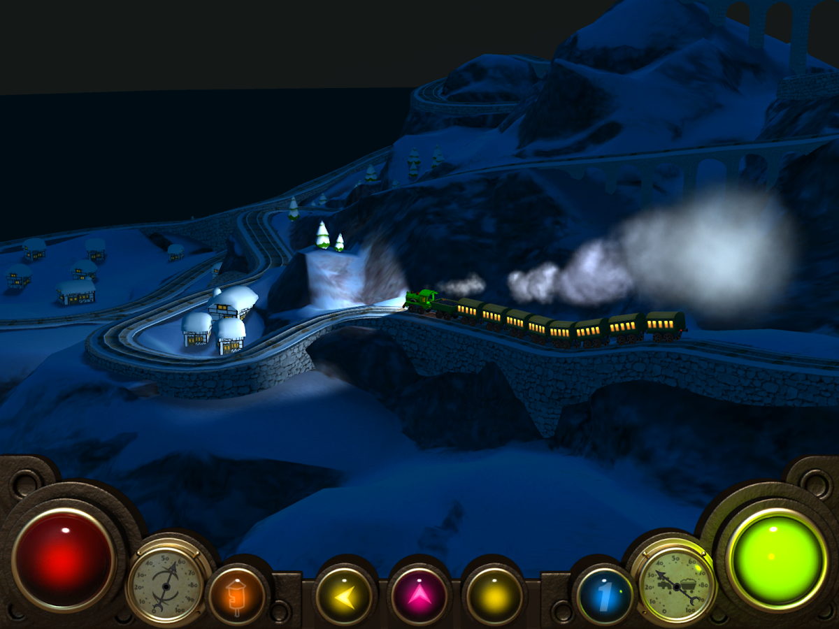 Alpine Train 3D Rail Simulator- screenshot