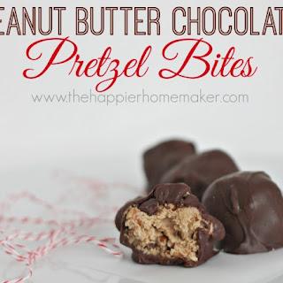 Peanut Butter Chocolate Pretzel Balls.