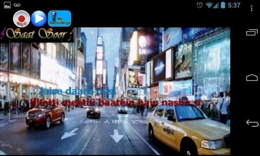 玩免費音樂APP|下載SaatSoor Bollywood Karaoke app不用錢|硬是要APP