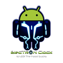 Electron Disc Clock icon