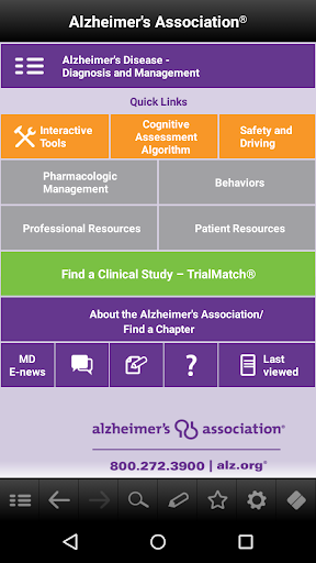 Alzheimer's Disease Pocketcard