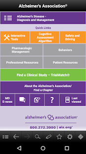 Alzheimer's Disease Pocketcard- screenshot thumbnail