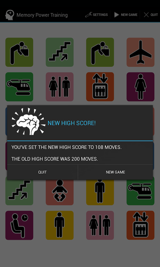 Memory Brain Training Games 2 - screenshot