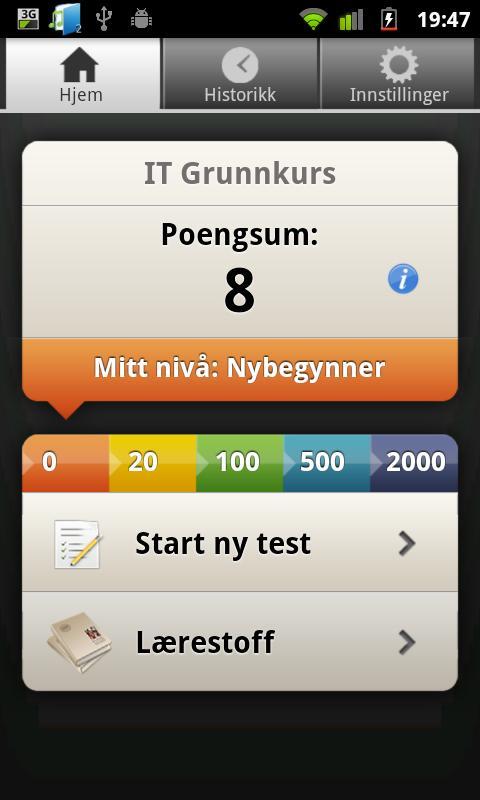 IT Grunnkurs- screenshot