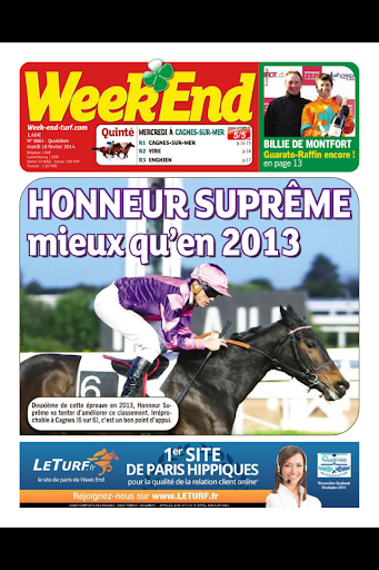 Week-End - le journal
