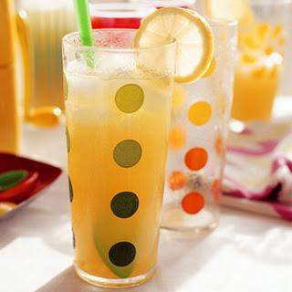 Pineapple-Rum Slush.