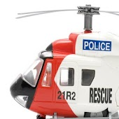 Police Rescue Game Helicopter
