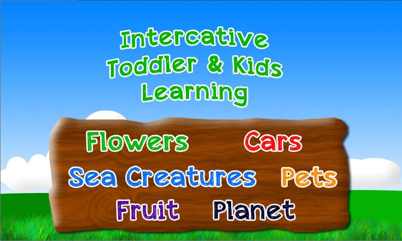 Fun Toddler Learning - Free- screenshot