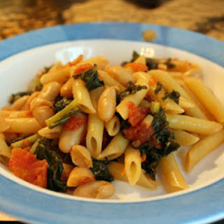 Kale and White Bean Pasta