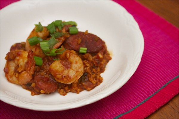 Brown Rice Jambalaya Recipe